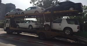 גרירה משולבת של מספר כלי רכב