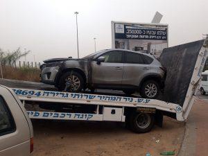 קונה רכב במזומן אחרי תאונה לפירוק